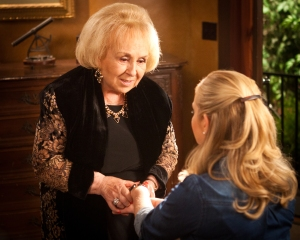 Doris Roberts as NORMA in PixL's original movie, TOUCHED