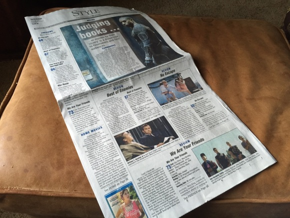 The Style section of every Friday's edition of the Arkansas Democrat is dedicated to covering movies.